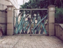 Forged Bronze & Stainless Steel Gates, Antony Donaldson