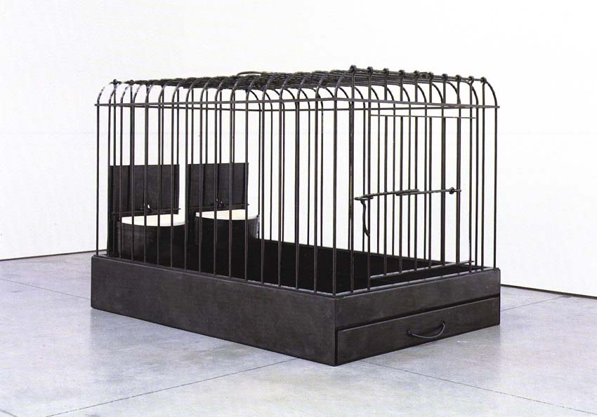 Cage, Artist: Mona Hatoum