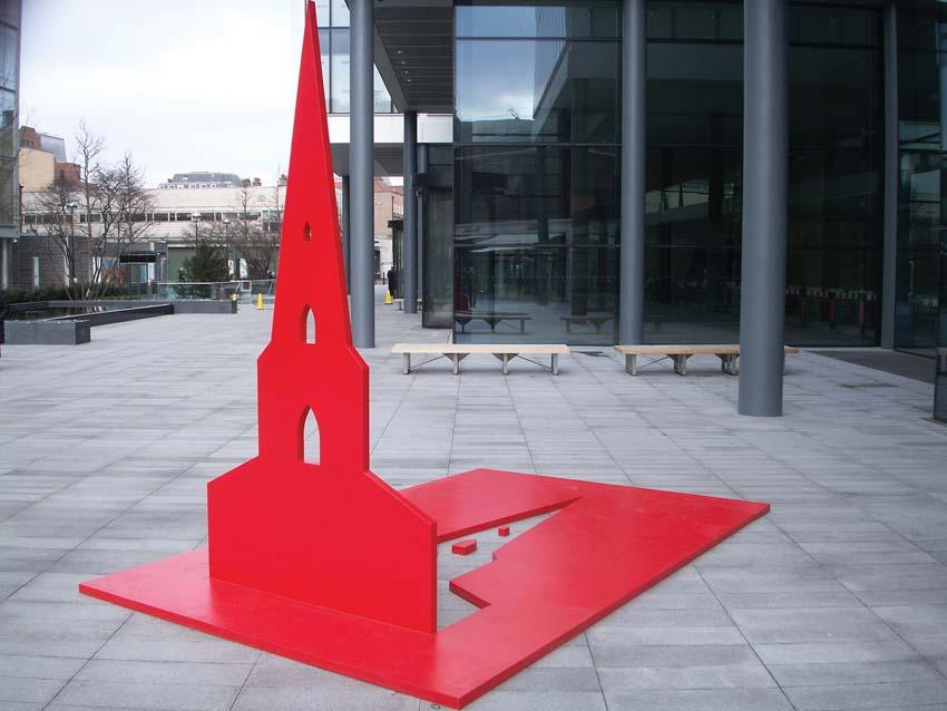Red Church, Artist: Eleonora Aguiari