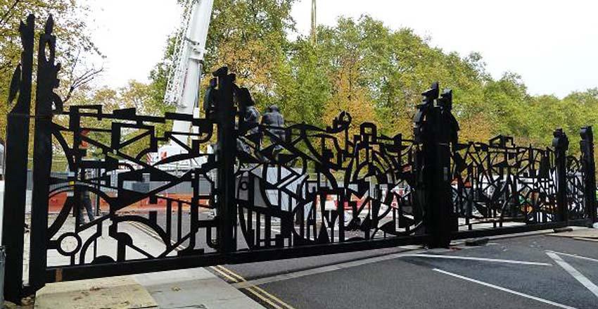 Edinburgh Gates, Designer: Wendy Ramshaw