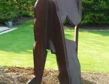 Corten Sculpture, Allen Jones RA
