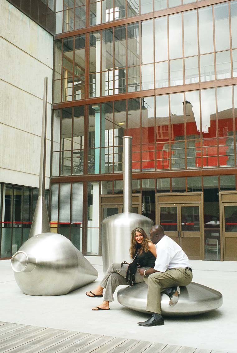 Stainless steel sculpture, Artist: Ben Joiner