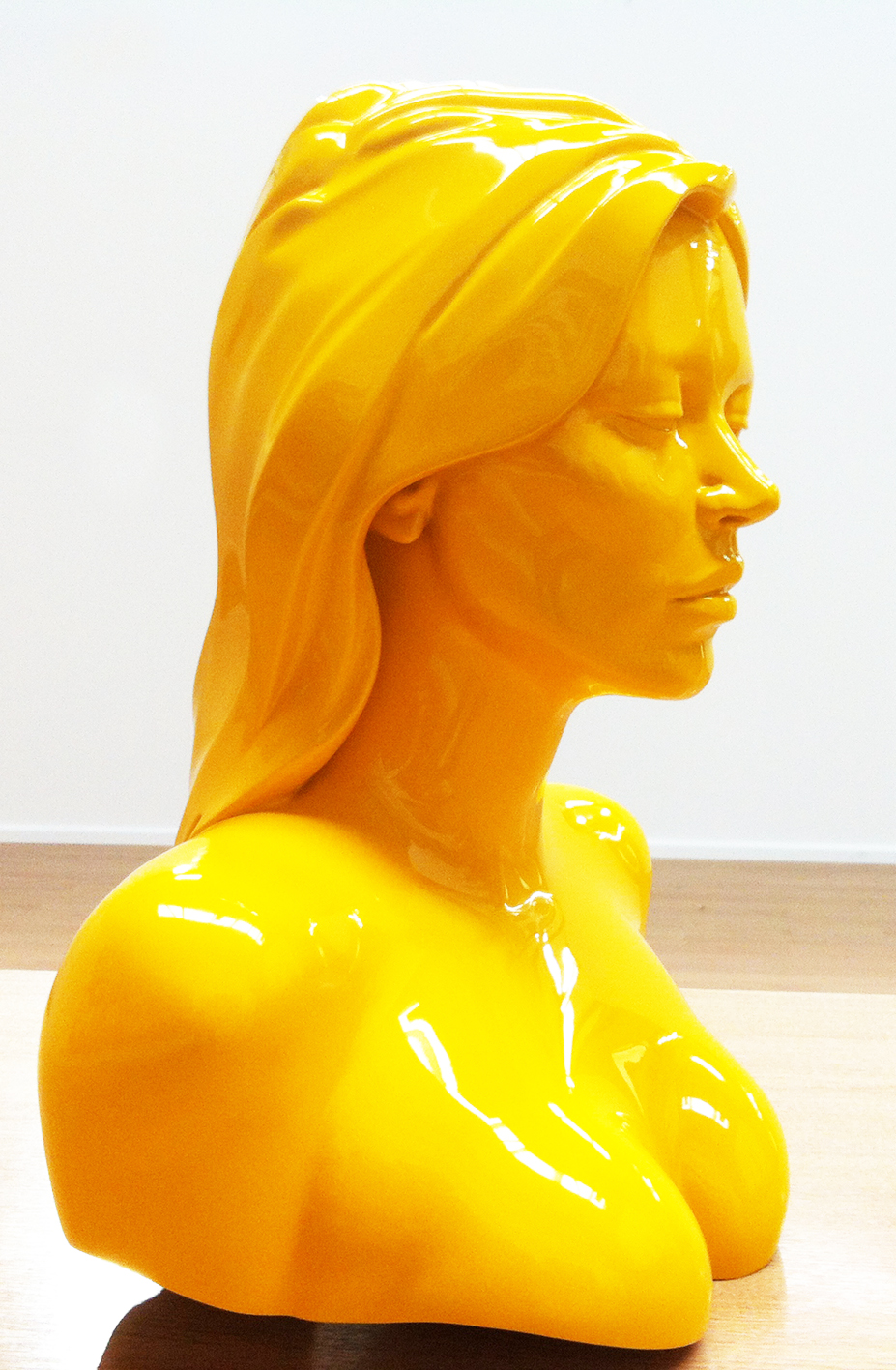 Resin maquette for Kate Moss sculpture,  Artist: Allen Jones RA