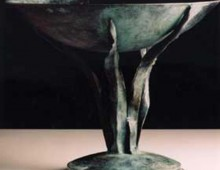 Forged Bronze Tazza, Antony Donaldson